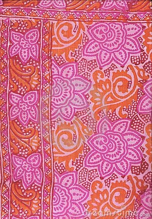 Free Indian Silk. Royalty Free Stock Images - 8064669