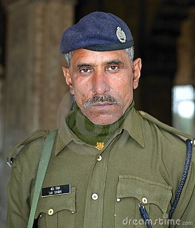 Indian soldier Editorial Stock Image