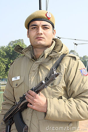 Indian soldier Editorial Photography
