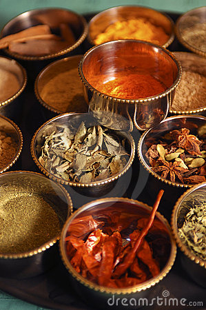 Free Indian Spices Royalty Free Stock Image - 13197256