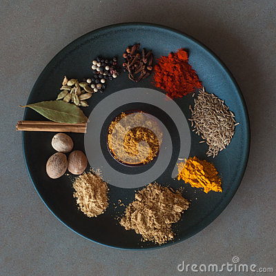 Free Indian Spices Royalty Free Stock Photos - 60469618