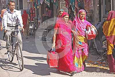 Indian street life Editorial Photo