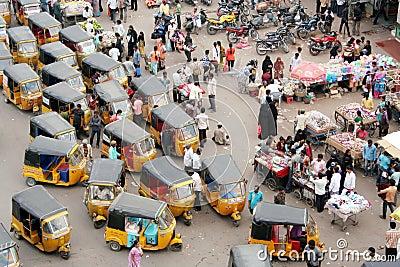 Indian Street Market Editorial Stock Photo