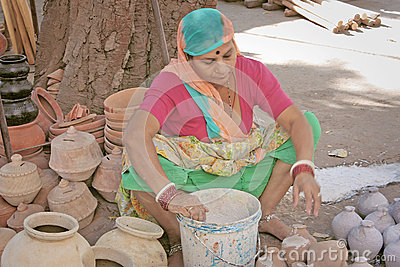 Indian street seller Editorial Stock Photo