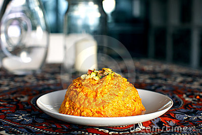 Indian sweet halva made of carrots