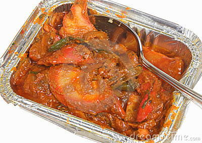 Indian Takeaway Curry