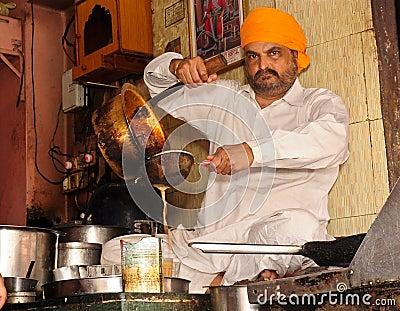 Indian tea shop Editorial Photography