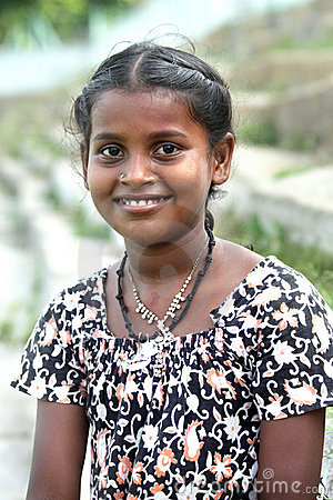 Indian Teenage Girl