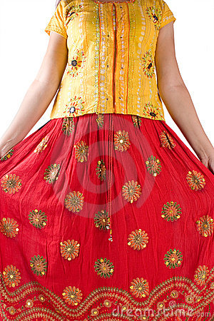 Free Indian Traditional Dress Royalty Free Stock Photo - 11777545