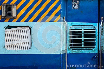 Indian train second class coach