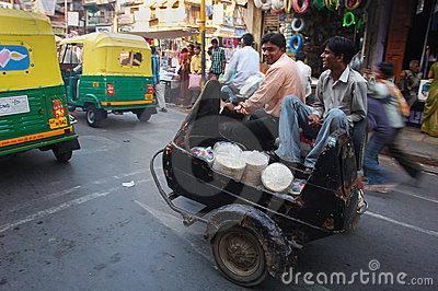 Indian Transport Editorial Stock Photo