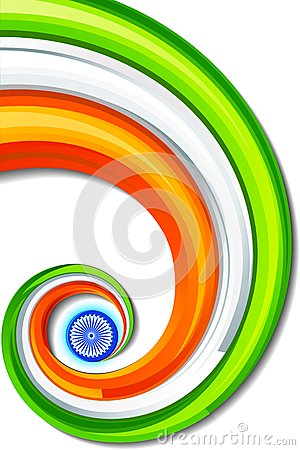Indian Tricolor Background