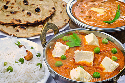 Indian Vegetarian meal