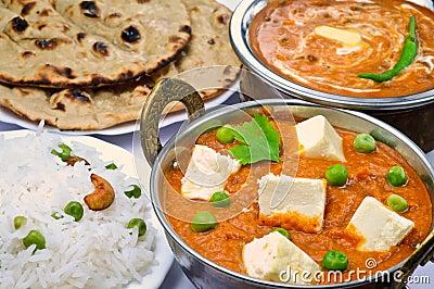 Indian Vegetarian meal