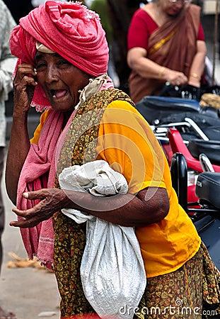 Indian village women Editorial Image
