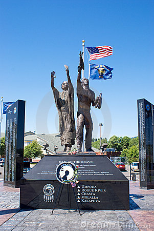 Free Indian War Memorial. Stock Image - 19840411