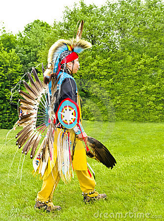 Indian Warrior Editorial Stock Photo