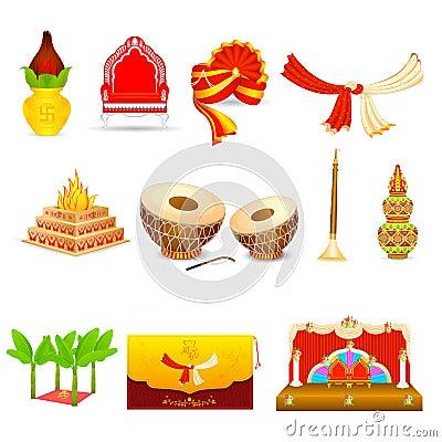 Free Indian Wedding Royalty Free Stock Images - 34474759
