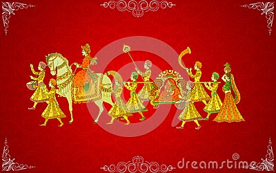 Indian Wedding Card Royalty Free Stock Photography - Image ...