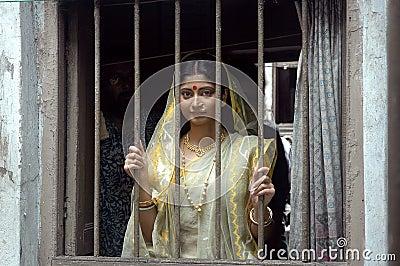 Indian woman Editorial Stock Photo