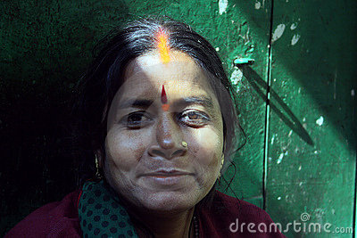 Indian Woman Editorial Stock Image