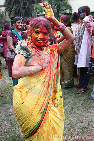Indian Woman Editorial Stock Image