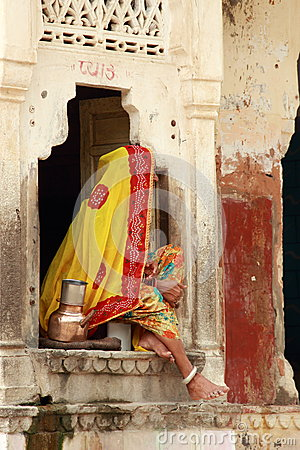 Indian Woman. Editorial Image