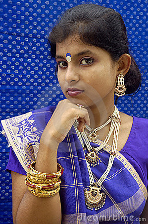 Indian woman.