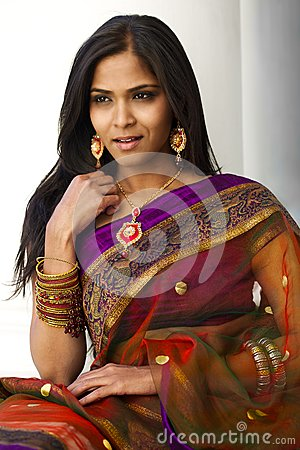 Free Indian Woman Portrait Stock Photography - 31299302