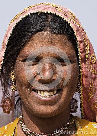 Indian woman Editorial Image