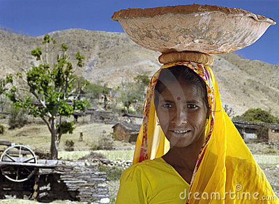 Indian Woman - Rajashan - India Editorial Image