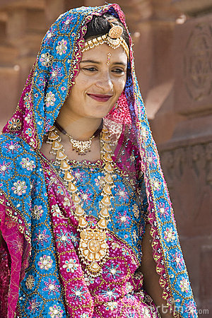 Indian woman - Rajasthan - India Editorial Image