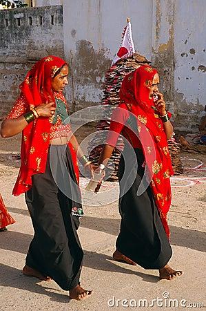 Indian Women Editorial Photo