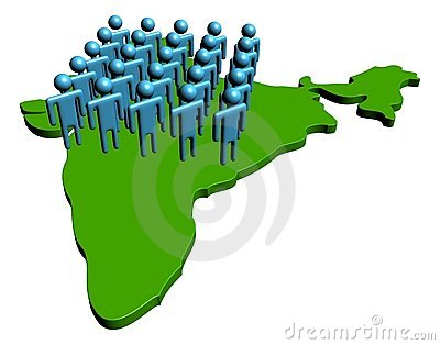 Indian workforce illustration