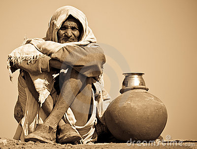 Indian Workman Editorial Stock Photo