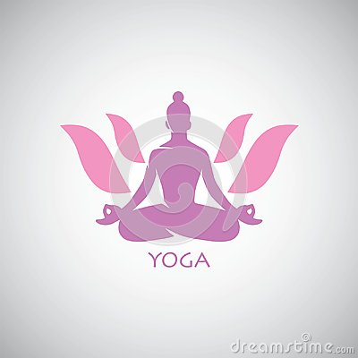 Free Indian Yoga Lotus Logo Vector Stock Photo - 119467050