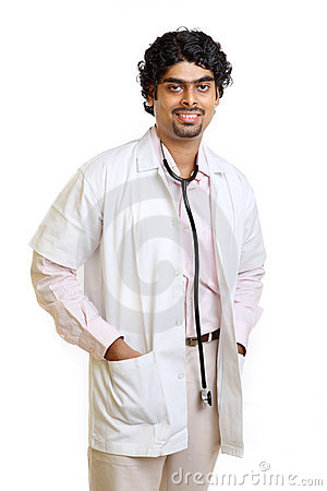 Indian young doctor