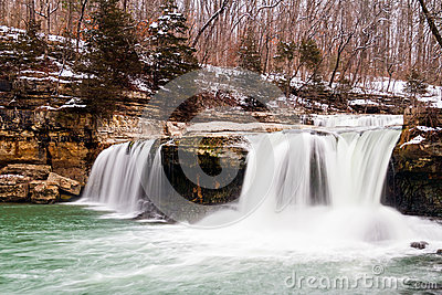 Indiana s Upper Cataract Falls