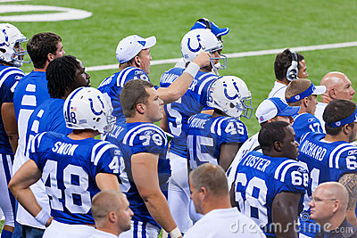 Indianapolis Colts Editorial Image