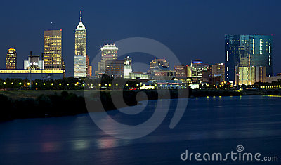 Indianapolis, Indiana (night)