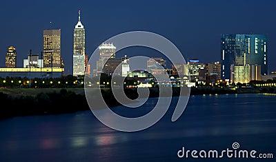 Indianapolis, Indiana (night)