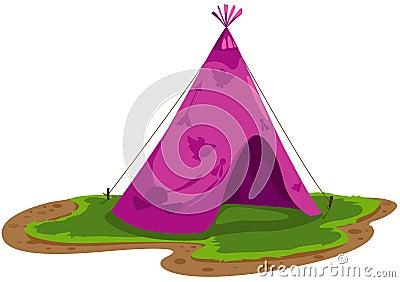 Indians tent