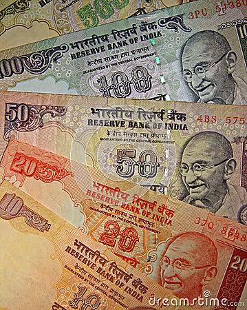 Indiańska waluta