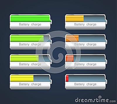 indicateur de charge image libre de droits image 35533716. Black Bedroom Furniture Sets. Home Design Ideas