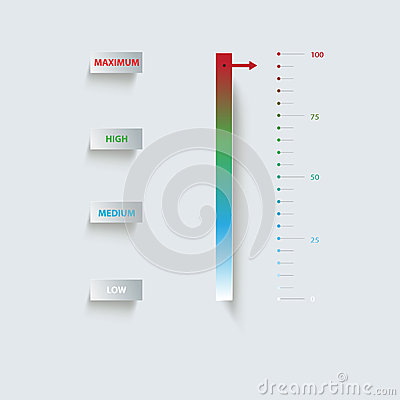 Indicator, Paper Infographics