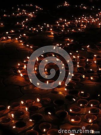 Indicatori luminosi di Diwali