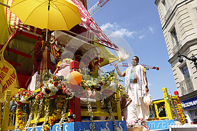 Indian Festival, Ratha Yatra. Editorial Photography