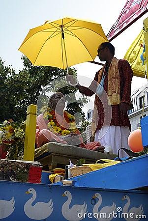 Indian Festival, Ratha Yatra Editorial Stock Photo