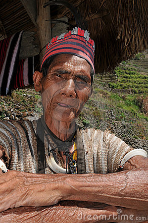 Indigenous Aged Man Royalty Free Stock Photo - Image: 16209135