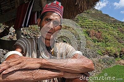 Indigenous aged man
